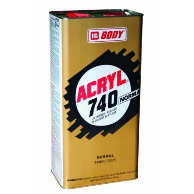 Body 740 akril hígitó 5l