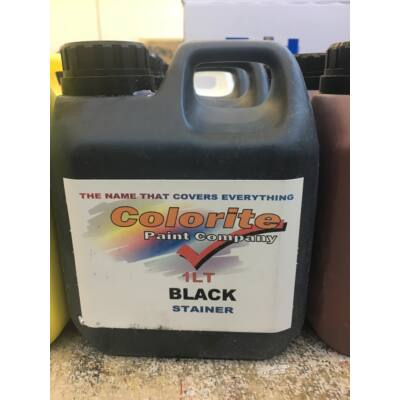 Colorite Stainer, Black, 1l