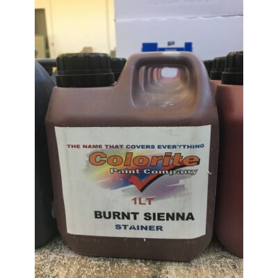 Colorite Stainer, Burnt Sienna, 1l