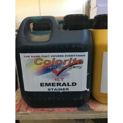 Colorite Stainer, Emerald, 1l