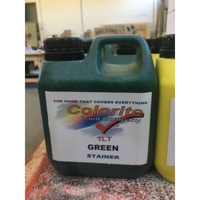 Colorite Stainer, Green, 1l