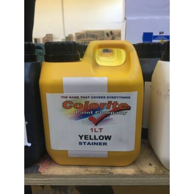 Colorite Stainer, Yellow, 1l