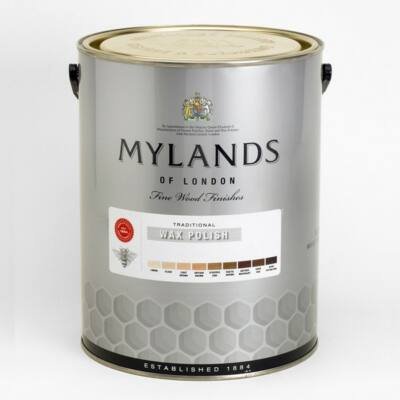 Mylands antique wax clear 5l