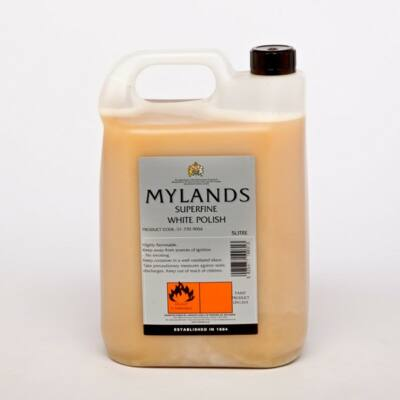 Mylands superfine white polish 5l