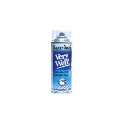 Very Well fényes lakk spray 400ml